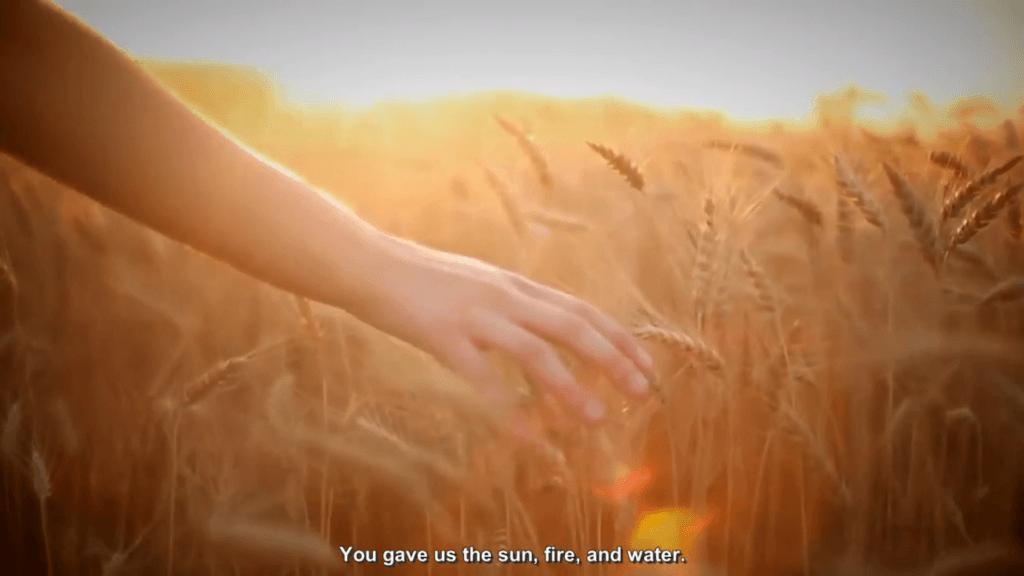 , Карина Вестова и Диана Козакевич – Молитва о Мире [English Subtitles], SnowCalmth